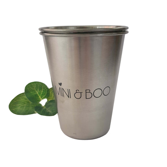 Stainless Steel Smoothie Cup - Mini & Boo