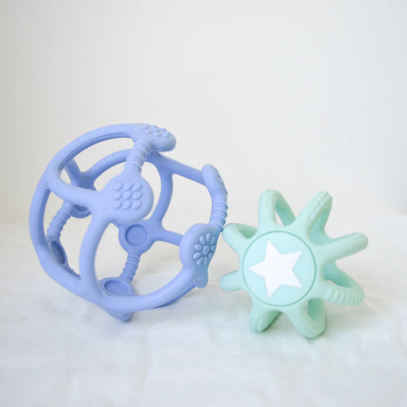 2 Pack Sensory Ball and Fidget Ball - Jelly Stone Designs