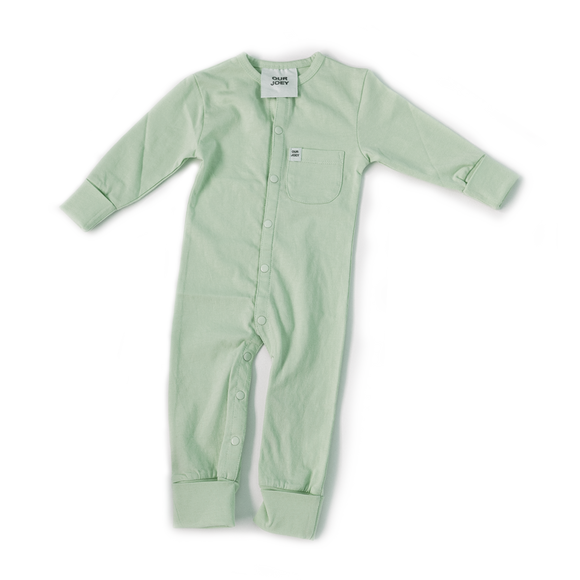 Sea Foam Full Length Onesie - Our Joey