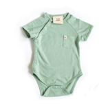 Aqua Foam Short Sleeve Bodysuit - Our Joey