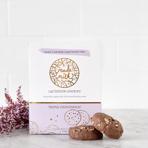 Triple Chocoholic Lactation Cookie Box - Made To Milk