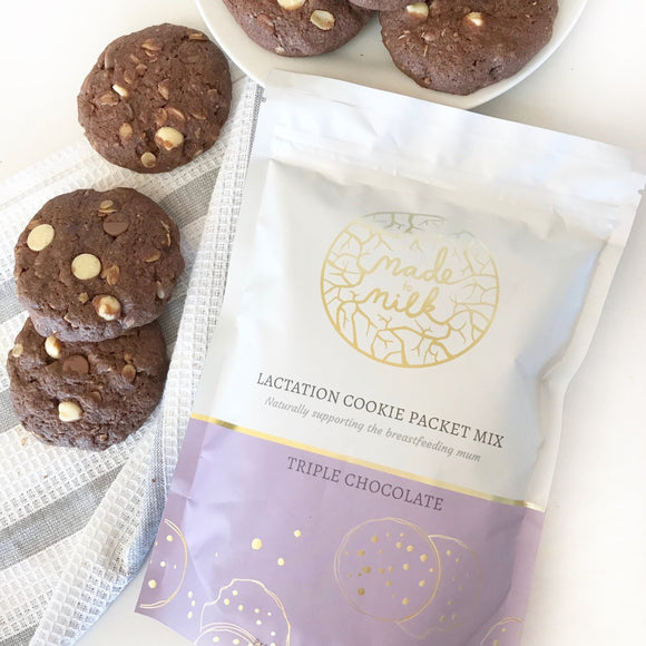 Triple Chocoholic Lactation Cookie Packet Mix - Made To Milk