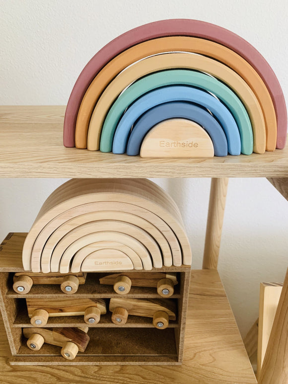 Coloured 7 Piece Rainbow - Earthside Collective
