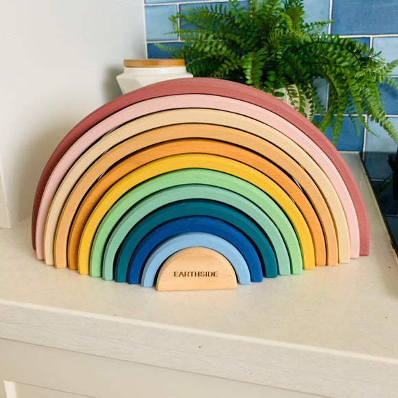 Coloured 12 Piece Rainbow - Earthside Collective