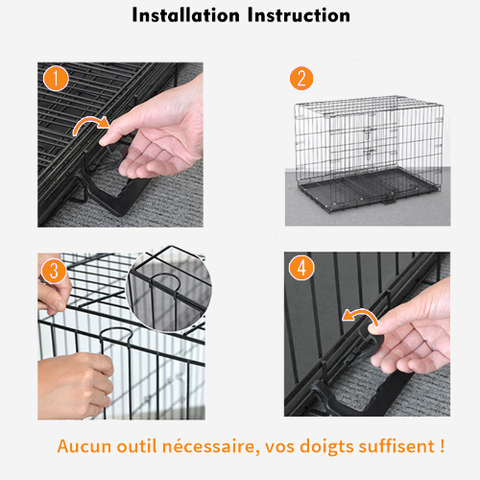 cage lapin grand modèle instruction