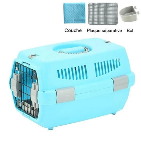 cage lapin transportable
