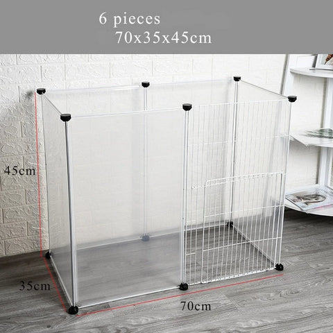 cage lapin modulable