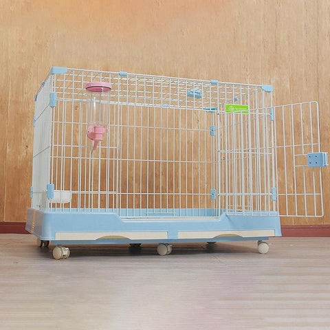 cage lapin geant