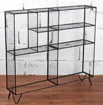 cage lapin meuble