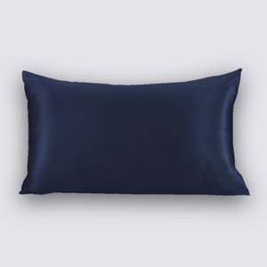 Navy Pillowcase - QUEEN