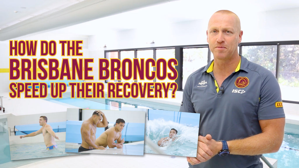 Brisbane Broncos Find The Edge In Recovery With Revive® By Poolrite.