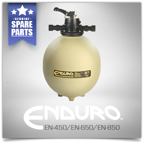 Poolrite Enduro EN Series Media Filters Spare Parts