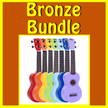 "Load image into Gallery viewer, Woody's Ukulele Bundle 1 - ""Bronze Bundle"""
