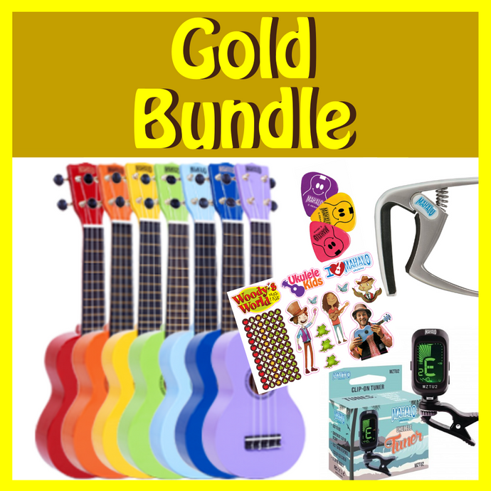 Woody's Ukulele Bundle 3 -