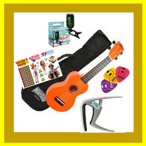 "Woody's Ukulele Bundle 3 - ""Gold Bundle"""