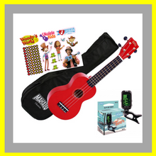 "Load image into Gallery viewer, Woody's Ukulele Bundle 2 - ""Silver Bundle"""