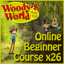 Load image into Gallery viewer, Woody's Ukulele Beginner Course (26 Lessons)