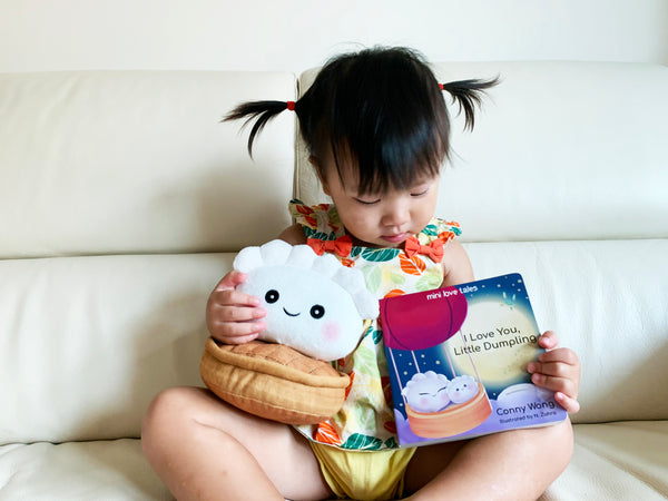 I Love You, Little Dumpling Book + Soft Toy Set