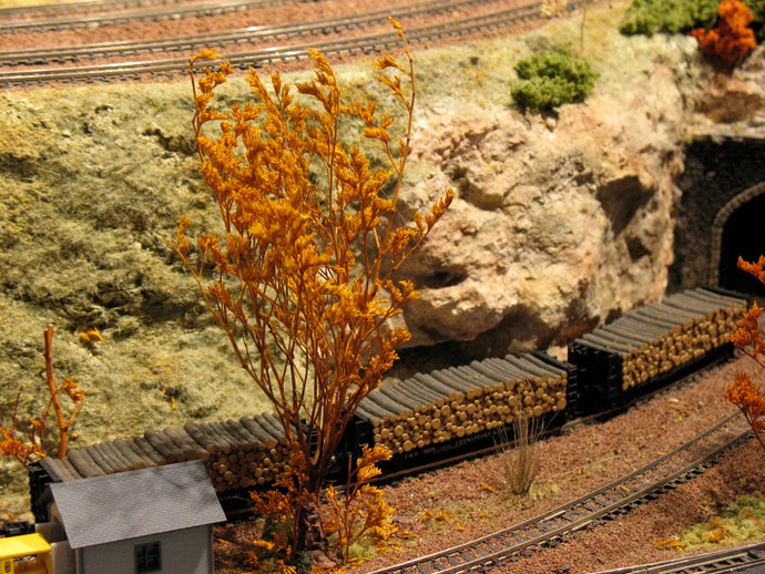 Making Rocks for Your Model Railroad