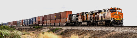Container train bring your orders to you ASAP
