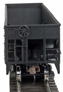 Walthers Trainline Offset Hopper - Ready to Run -- Illinois Central (Orange, Black, White- Large Logo) HO Scale