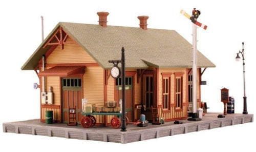 Woodland Station N Scale Kit