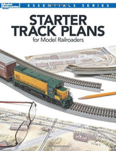 Load image into Gallery viewer, Starter Track Plans for Model Railroaders (Model Railroader Books Essentials Series)