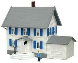 Model Power N Scale Sinatra's House 2554 Built Up