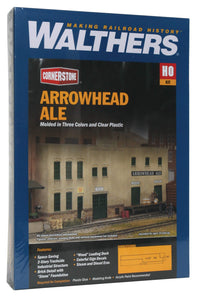Walthers Cornerstone Arrowhead Ale Background Building