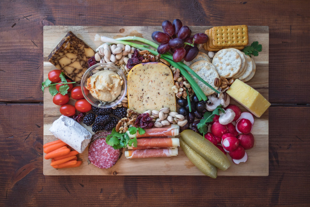 cheese board picnic patio summer essen outdoor
