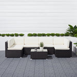 Polignano Outdoor Patio Sectional Set