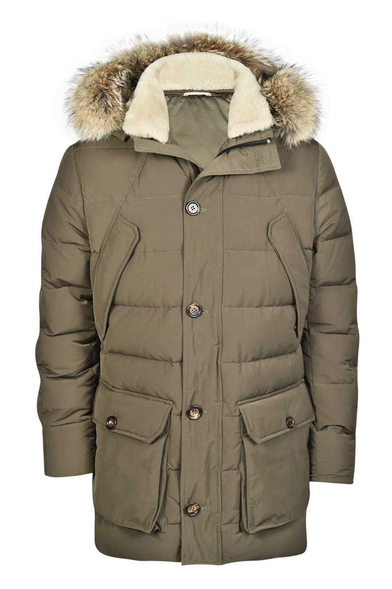 PARKA WITH COYOTE AND MERINO