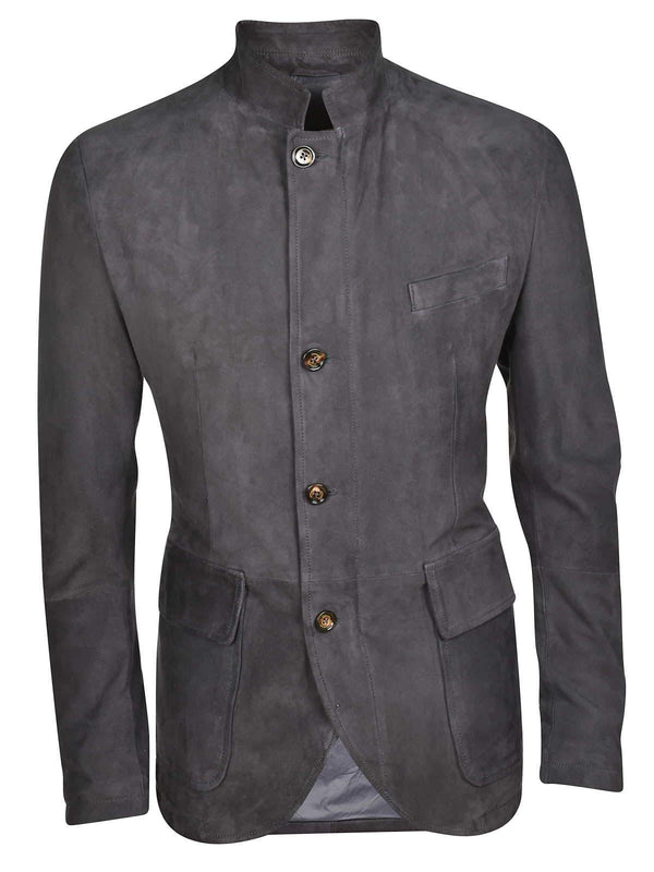 SUEDE HYBRID FIELD JACKET