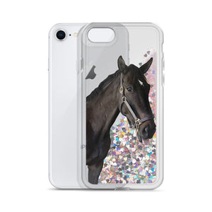 Quicksand Liquid Glitter Pet Photo Phone Case