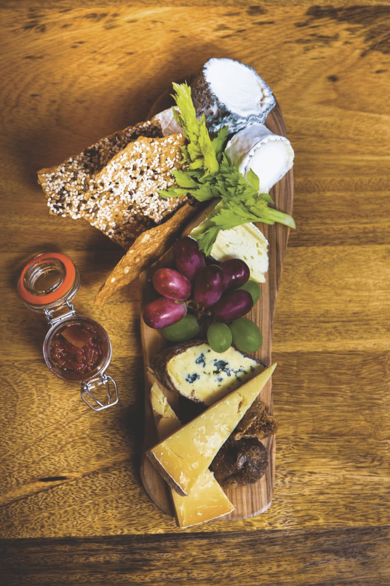 Individual Farmhouse Cheese Platter