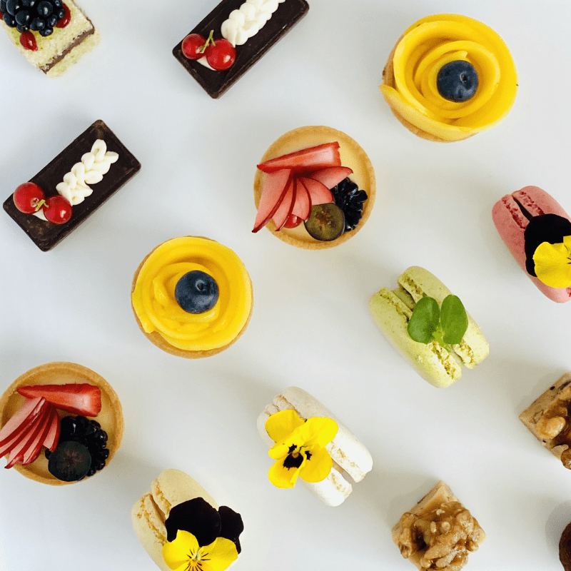 Bespoke selection of handmade Petit Fours