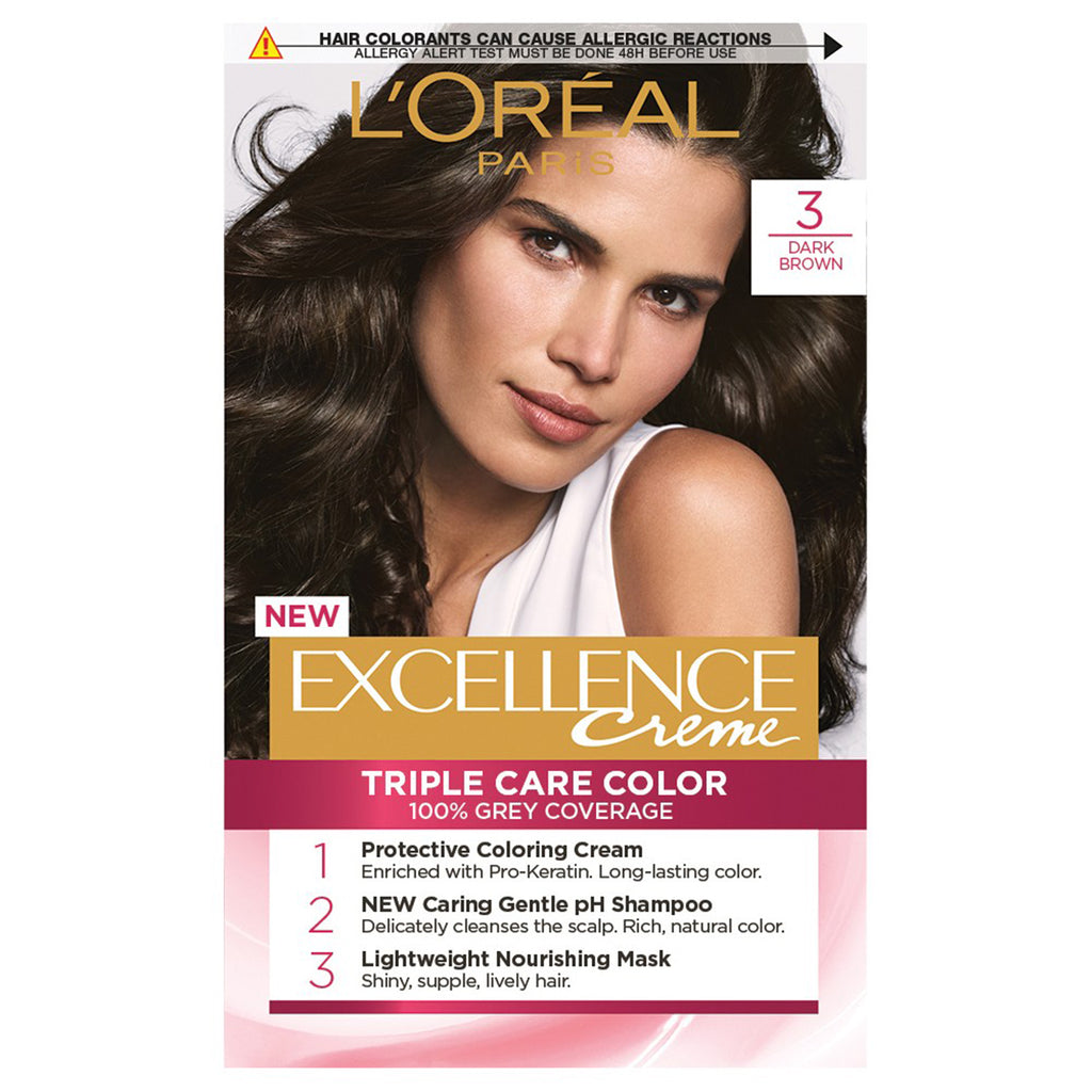 L'oreal Excellence 3 Natural Dark Brown