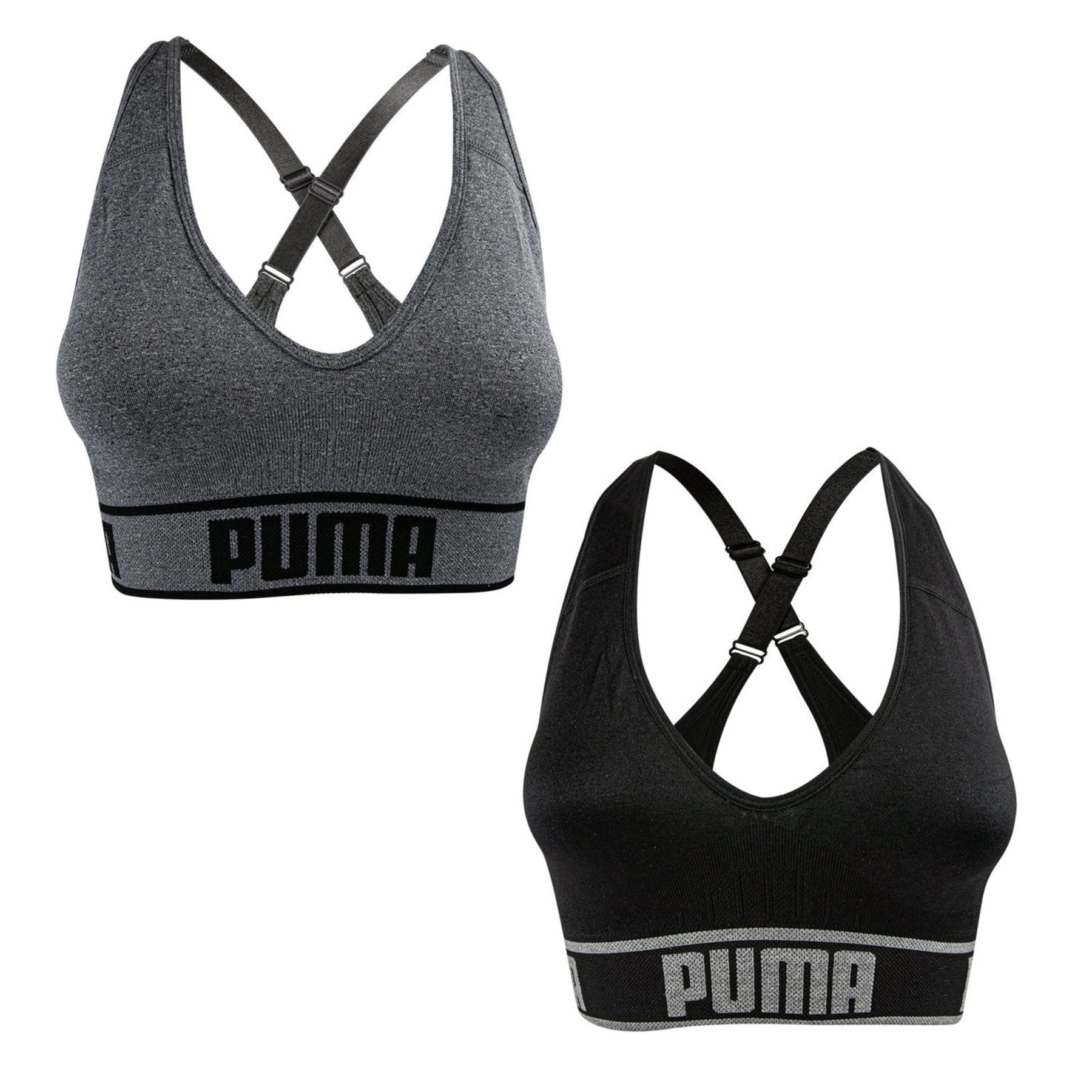 Puma Seamless Sports Bra 2 Pack