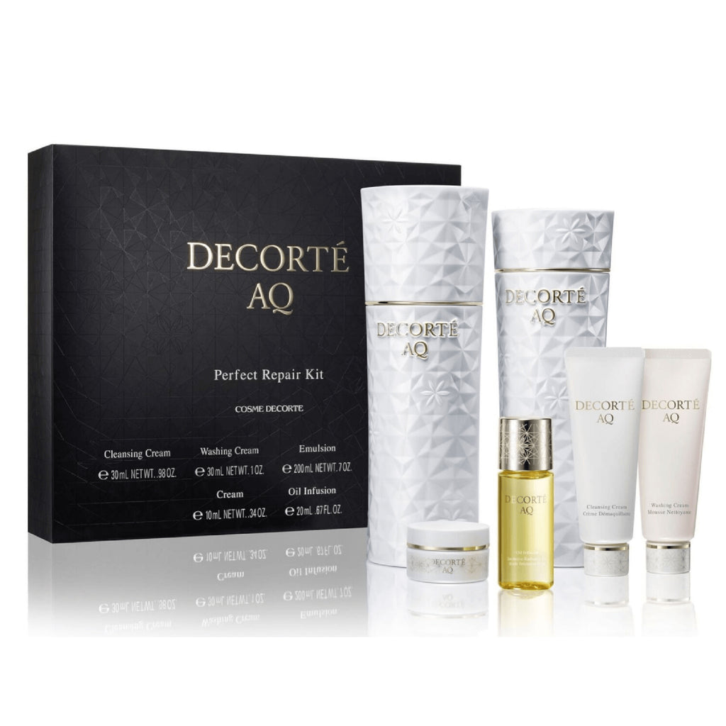 Cosme Decorte AQ Perfect  Repair Kit 2X200ML/2X30ML/20ML/10ML