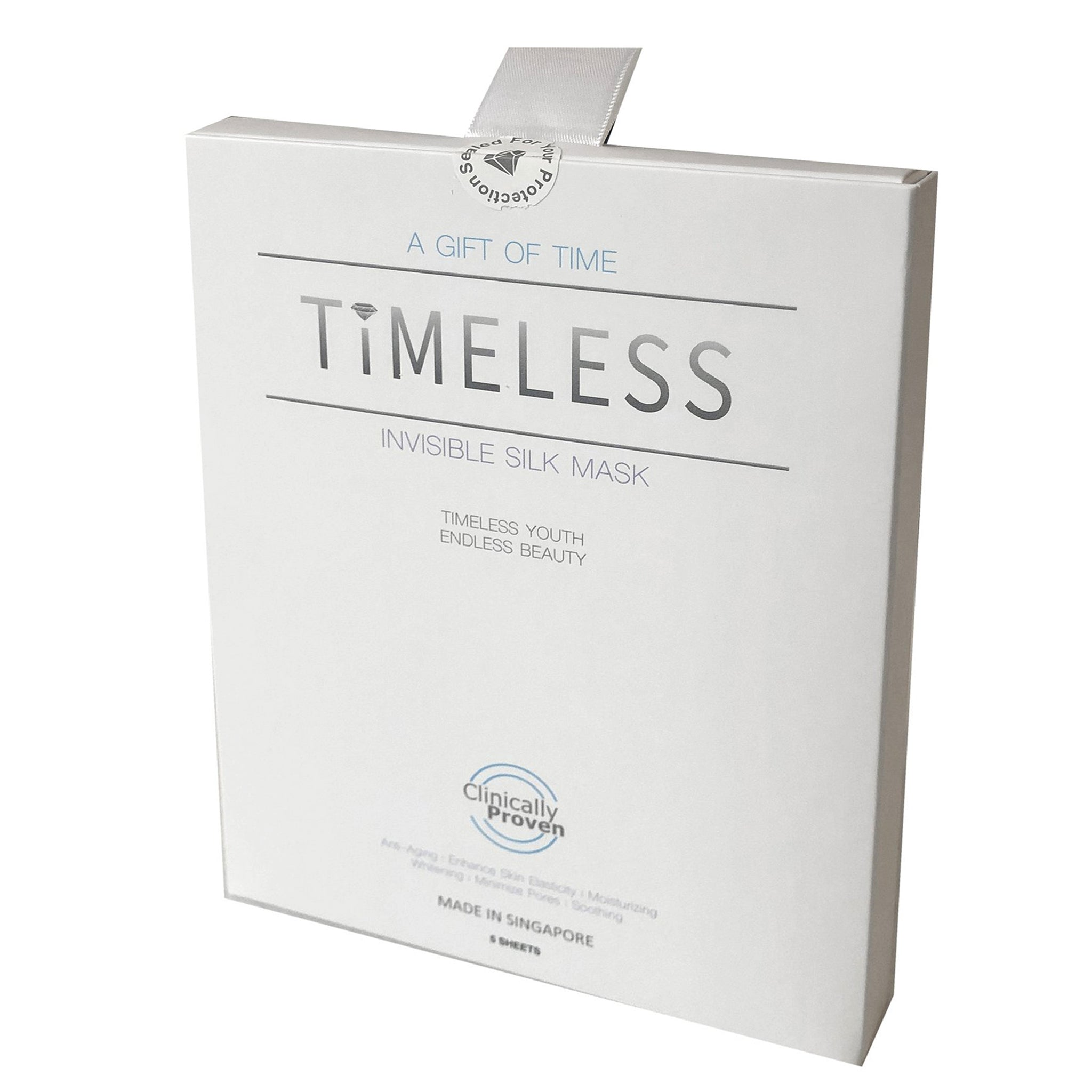 Timeless Invisible Silk Sheet Mask X5