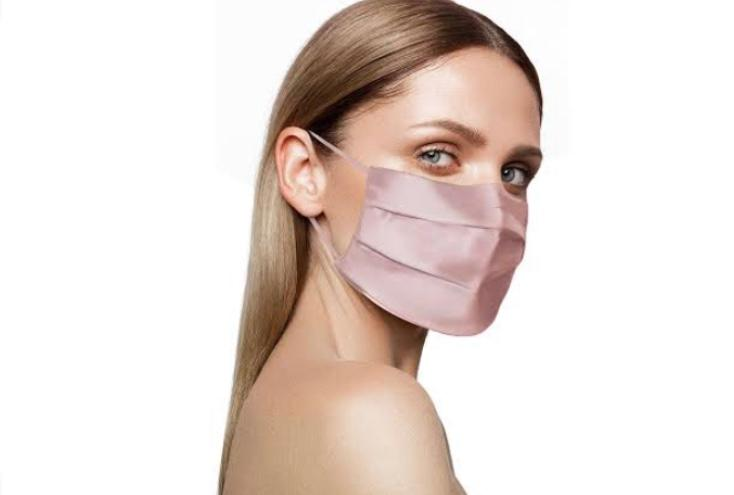 100% Mulberry Silk Surgical Style Face Mask - Set of 2