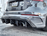 Focus RS Carbon Fiber Rear Diffuser