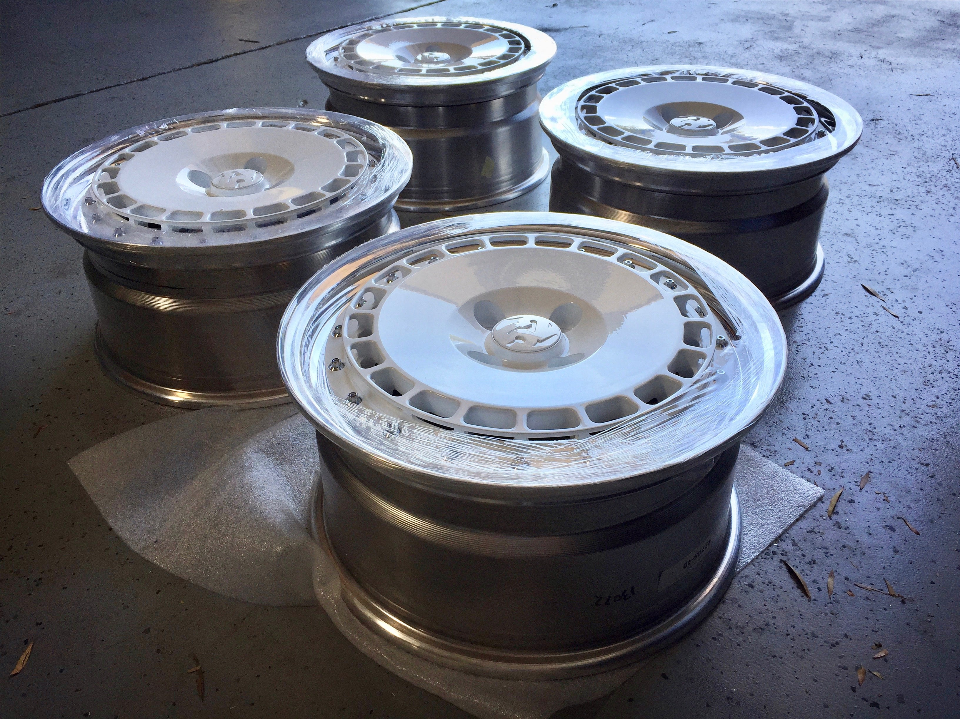 USED: set of fifteen52 Evo SC 3pc Wheels for Fiesta ST