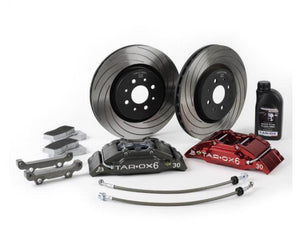 Tarox 6-piston 300mm Big Brake Kit w/matching rear rotors/pads 2014+ Fiesta ST