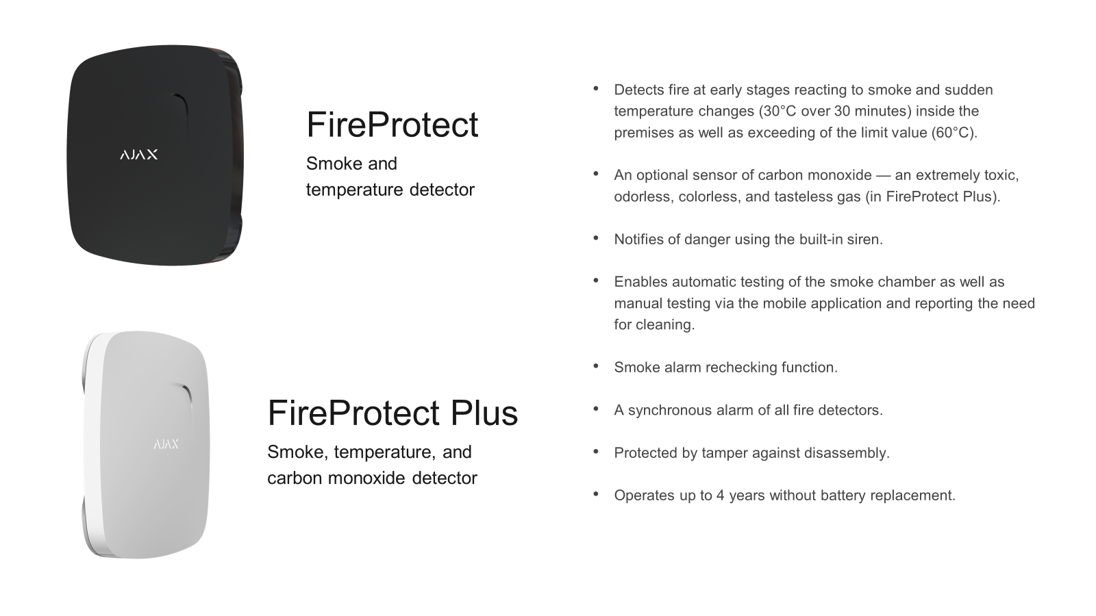Ajax Fire Protect Plus