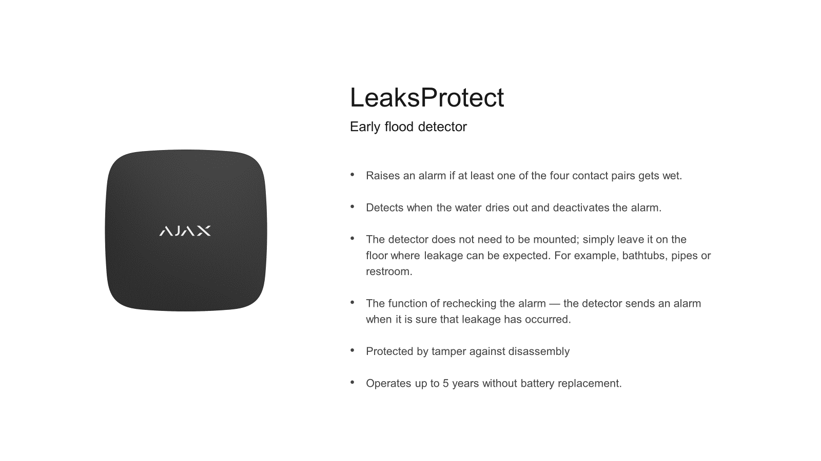 Ajax Leak Protect