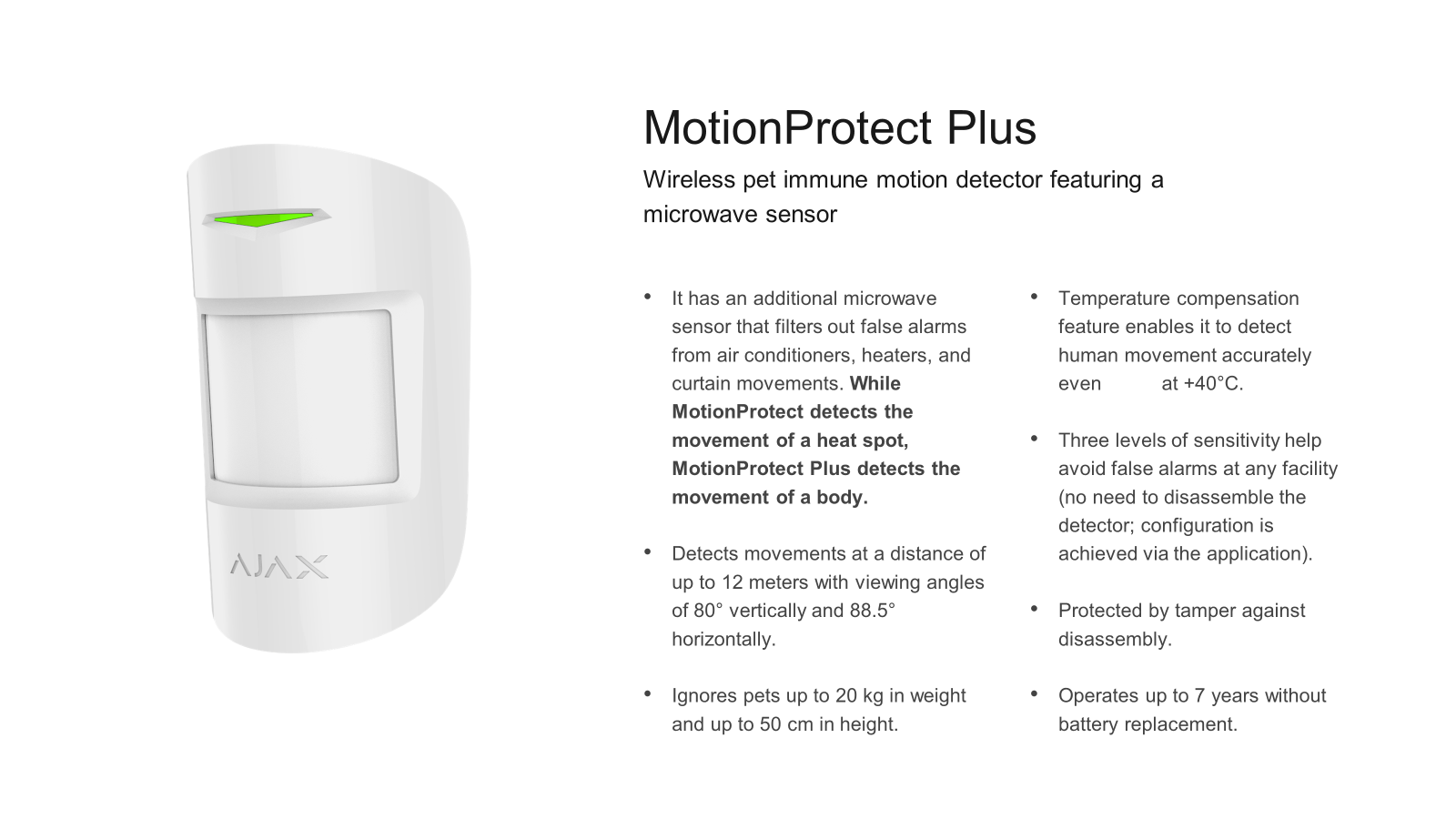 Ajax Motion Protect 1