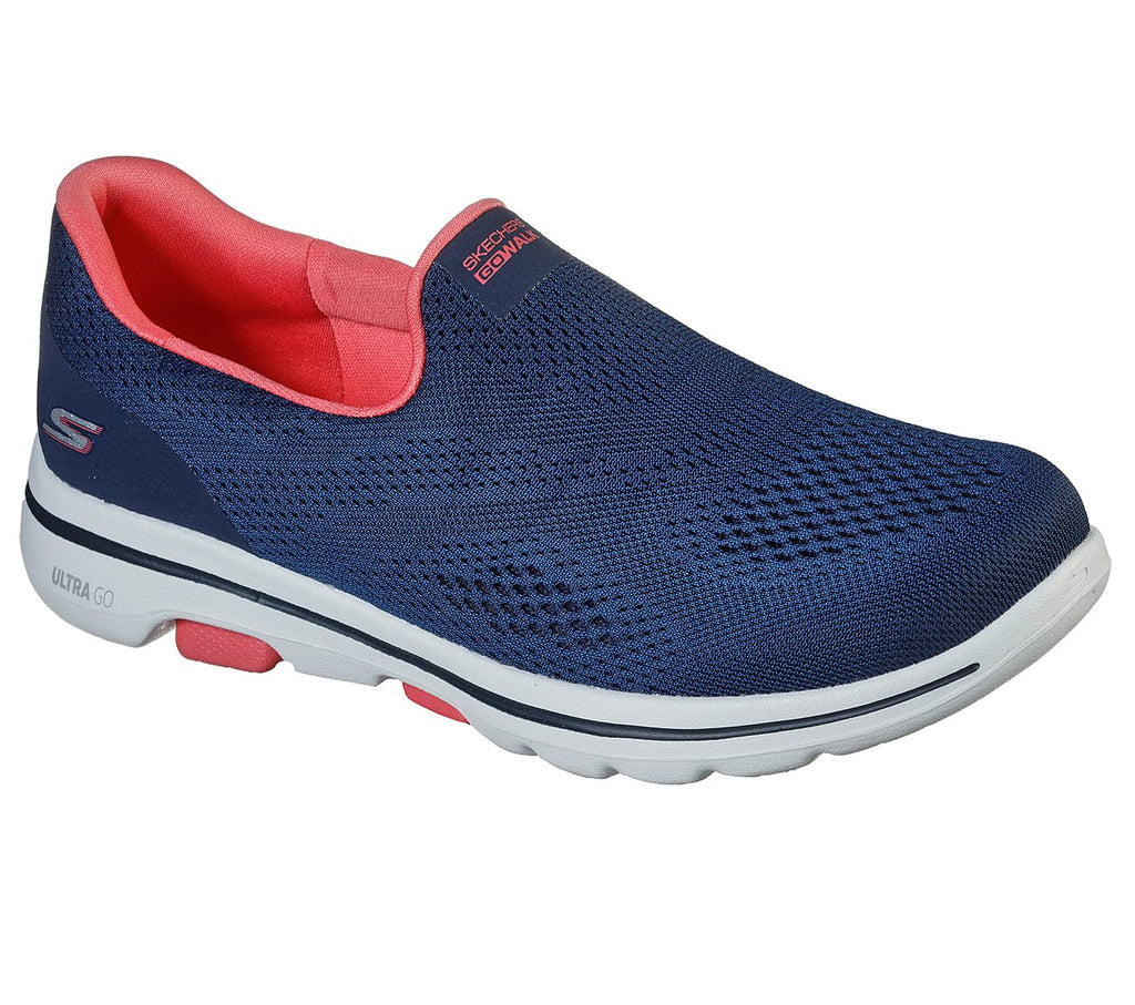 Skechers Women Go Walk 5 Shoes - 124033-NVCL