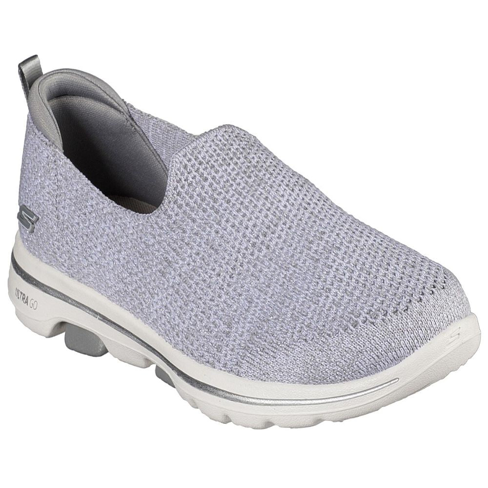 Skechers Women Go Walk 5 Go Walk Shoes - 124162-GRY