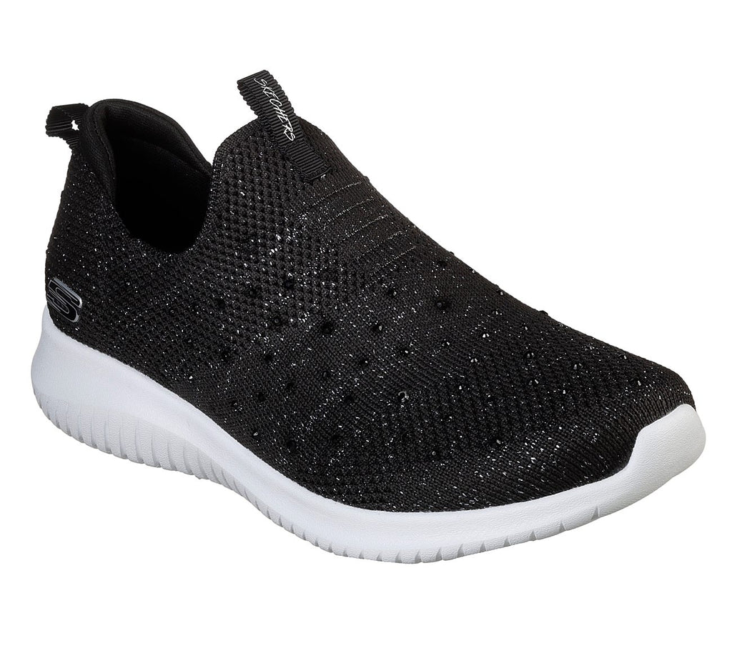 Skechers Women Sport Ultra Flex - 13113-BKSL